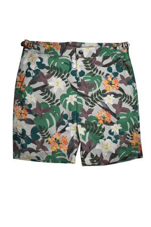 Jungle Print Swim Shorts