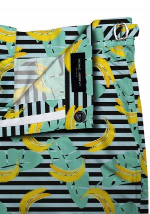 Banana Pop Art Swim Shorts