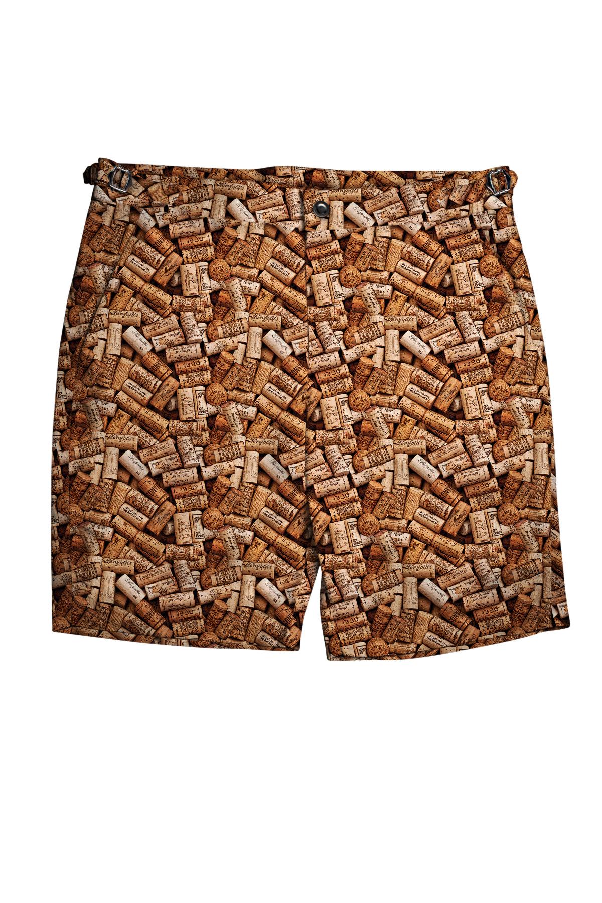 Wine Corks Swim Shorts