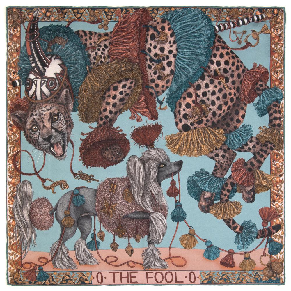 The Fool (Verdigris/Sand)