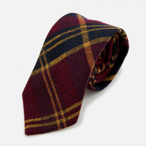 """Ultimate Tartan"" Red Plaid Tie"